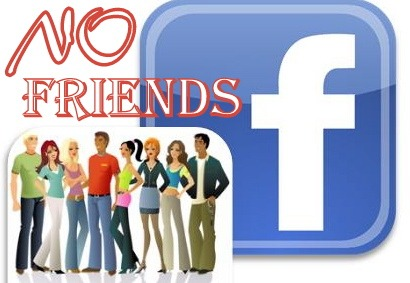 Facebook fan page NO friends
