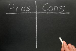 pros cons facebook pages vs profiles